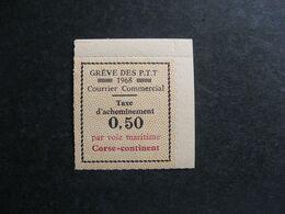 TB Timbre De Grève N° 15 , Ref. MAURY, Neuf XX. - Huelga