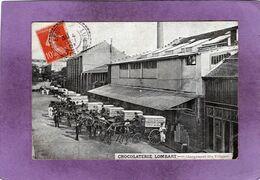 75 13 PARIS 13è CHOCOLATERIE LOMBART Chargement Des Voitures  Avenue De Choisy - Distretto: 13