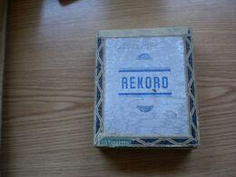 Old Wooden Box Rekord - Tabaksdozen (leeg)