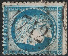 CERES - N°60 - OBLITERATION GC4742 - LES LAUMES - COTE D'OR - COTE 8€ - SUR FRAGMENT DE LETTRE A LAVER. - 1849-1876: Klassieke Periode