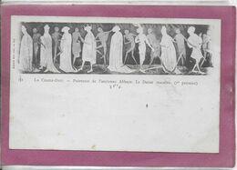 43.- LA CHAISE DIEU - Peinture De L' Ancienne ABBAYE  , La Danse Macabre  ( 1er Panneau ) XVe Siècle - La Chaise Dieu