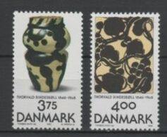 (S0108) DENMARK, 1996 (Art Works Of Thorvald Bindesboll). Complete Set. Mi ## 1136-1137. MNH** - Nuovi