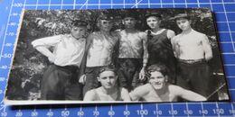 B&W Photo Portrait Boy Homme Sport Teem Summer 26d20 - Anonymous Persons