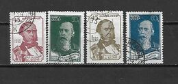 URSS - 1939 - N. 730/33 USATI (CATALOGO UNIFICATO) - Used Stamps