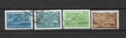 URSS - 1943 - N. 879/82 USATI (CATALOGO UNIFICATO) - Oblitérés