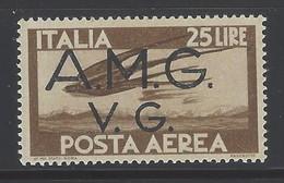 Italia - Venezia Giulia - 1945 - Nuovo/new MNH - Posta Aerea - Sass. N. 7 - 7. Triest