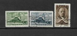 URSS - 1947 - N. 1081/83 USATI (CATALOGO UNIFICATO) - 1923-1991 USSR