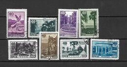 URSS - 1949 - N. 1295/302 USATI (CATALOGO UNIFICATO) - Oblitérés