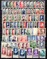 France Belle Collection Types Grands Hommes Neufs **/* 1949/1962. TB. A Saisir! - France