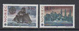 Europa Cept 1992 Norway 2v ** Mnh (49938B) ROCK BOTTOM - Europa-CEPT