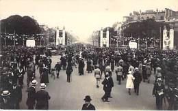 EVENEMENTS Militaria - PARIS - FETE DE LA VICTOIRE (14 Juillet 1919) Le Rond Point Des Champs Elysées - CPA - Seine - Andere