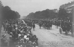 EVENEMENTS Militaria - PARIS - FETE DE LA VICTOIRE (14 Juillet 1919)  Les Personnages Officiels Reviennent ... CPA Seine - Andere
