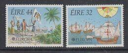 Europa Cept 1992 Ireland  2v ** Mnh (49938D) ROCK BOTTOM - Europa-CEPT
