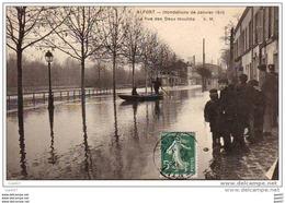 D94 ALFORT - Innondations De Janvier 1910 - La Rue Des Deux Moulins (Ref 2028) - Alfortville