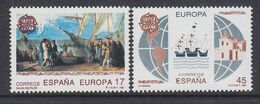 Europa Cept 1992 Spain 2v ** Mnh ROCK BOTTOM PRICE (49938F) - Europa-CEPT
