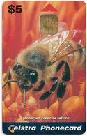 Australia - Telstra (Chip) - P Series 1998 Spring - Spring Time, Bee, Exp. 06.2000, 5$, 1.000ex, Mint - Australië