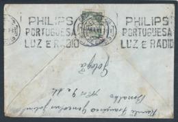 Philips. Lumière. Rádio. Stamp Exposição Mundo Português 1940. Golegã. Rara Flâmula 'Philips, Luz E Rádio'. Caravela. - 1910-... République