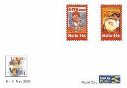 Malte Carte Postale, Entier Postal Thème Bière, Beer, Bier Neuf. - Birre
