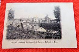 CONDE  -  Confluent De L'Escaut De La Haisne  Et Du Canal De Mons - Conde Sur Escaut