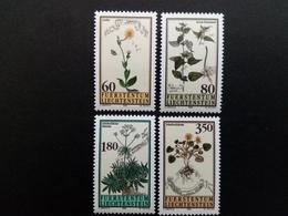 LIECHTENSTEIN MI-NR. 1116-1119 POSTFRISCH(MINT) HEILPFLANZEN 1995 ARNIKA BALDRIAN BRENNESSEL - Plantas Medicinales