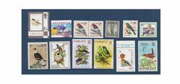 G460. Birds / Pajaros / Oiseaux / Lot / Mint & Mint Hinged - Konvolute & Serien