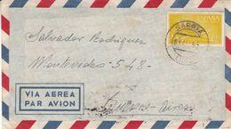 ESPAGNE. CIRCULEE SARRIA, LUGO A BUENOS AIRES, ARGENTINE. ANNEE 1957. PAR AVION -LILHU - 1951-60 Briefe U. Dokumente