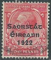 1922 IRELAND IRISH FREE STATE USED SG53 - RD5-5 - 1922 Governo Provvisorio