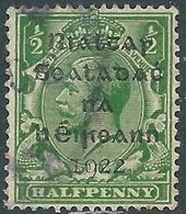 1922 IRELAND USED SG1 - RD5-3 - 1922 Governo Provvisorio