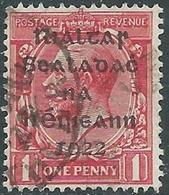 1922 IRELAND USED SG2 - RD5-3 - 1922 Governo Provvisorio