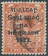 1922 IRELAND USED SG12 - RD5-4 - 1922 Governo Provvisorio