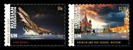 United Nations (New York) 2020 Mih. 1761/62 UNESCO World Heritage In Russia (I) MNH ** - Ongebruikt