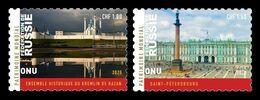 United Nations (Geneva) 2020 Mih. 1115/16 UNESCO World Heritage In Russia (I) MNH ** - Ongebruikt