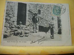 09 2687 CPA 1902 - AUTRE VUE DIFFERENTE N° 5 - 09 TYPE BETHMALAIS (Hte ARIEGE) - ANIMATION ENFANTS HOMME TRES GROS PLAN - Francia