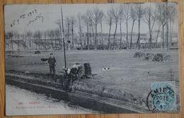 80 : Amiens - Extraction De La Tourbe à Rivery - Animée - (n°18585) - Amiens