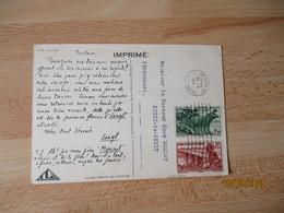 A O F Arique Occidentale Carte  Ionyl La Biomarine Dieppe 3 Timbre - Briefe U. Dokumente