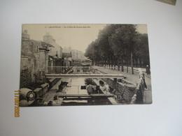 Cpa 50 Granville  Laveuse Blanchisserie  Cours Joinville - Granville