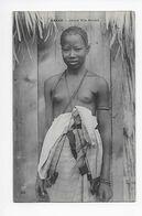 DAKAR - Jeune Fille Ouolot 1909 - Senegal