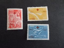 K39900 -  Set MNh Panama 1963 -  - - Red Cross - Croix Rouge - Cruz Roja