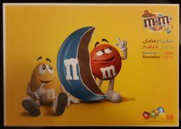 M&M's Carte Postale - Reclame