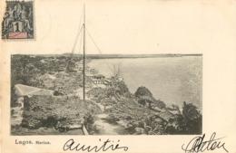 LAGOS MARINA NIGERIA DAHOMEY AFRICA AFRIQUE 1900 - Nigeria