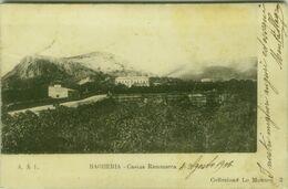 BAGHERIA - CASINA RAMMACCA - EDIZIONE COLLEZIONE LO MONACO - SPEDITA AL PRINCIPE DI GELA 1906 (5733) - Palermo
