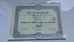 SEYMOUR (1933) - Unclassified