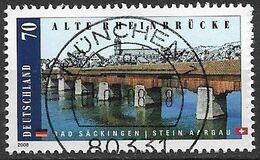 2008 Deutschland  Allem. Fed. Mi. 2691 Used Alte Rheinbrücke Bad Säckingen-Stein/Aargau - Gebraucht