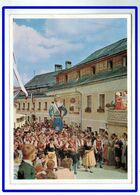 25895   CPM  MARIAPFARR : Salzburger Land , Miariapfarrer Trachtenmusikkapelle Mit Samson , Carte Photo 1962 !! - Mariapfarr