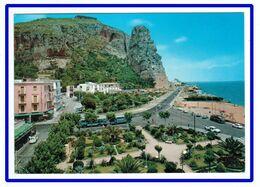 25896   CPM   TERRACINA  : Spiaggia Di Levante E Pisco Montano , Carte Photo 1966 !! - Latina