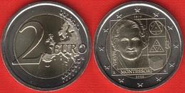 "Italy 2 Euro 2020 ""Maria Montessori"" BiMetallic UNC - Italia"