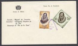 Bolivia, Scott #451, C230, First Day Cover, Bolivar, Issued 1961 - Bolivien
