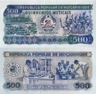 Mozambique, 500 Meticais, 1989, P189c, UNC - Mozambique
