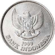 Monnaie, Indonésie, 100 Rupiah, 1999, TTB+, Aluminium, KM:61 - Indonesia