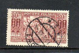 POLOGNE 1933 O - Used Stamps